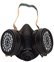 Μάσκα προστασίας αναπνοής διπλού φίλτρου
