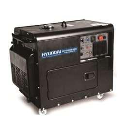 Ηλεκτρογεννήτρια Πετρελαίου D7000EMS 10HP- 7,0KVA Hyundai