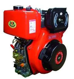 Πετρελαιοκινητήρας F460 DG 12hp με μίζα και κώνο 25,4