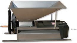 Σπαστήρας χειροκίνητος με διαχωριστήρα - κυλίνδρους - αναδευτήρα - κοχλία 90x50 Grifo DMAI inox 1500kg/hour