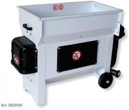 Σπαστήρας διαχωριστήρας Grifo DVEP20F με αντλία μούστου 220V με αναδευτήρα κοχλία 1.5hp 87x50 2000kg/hour