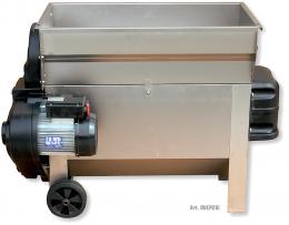 Σπαστήρας διαχωριστήρας Grifo DVEP20I Inox με αντλία μούστου 220V με αναδευτήρα κοχλία 2hp 87x50 2000kg/hour