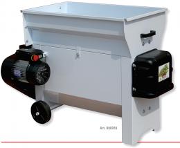 Σπαστήρας διαχωριστήρας Grifo DVEP20 με αντλία μούστου 220V με αναδευτήρα κοχλία 2hp 87x50 2000kg/hour με ανοιγόμενο καπάκι