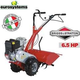 Φρέζα σκαπτικό μοτοκαλιεργητής βενζίνης eurosystem με κινητήρα honda 5.5Hp