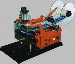 Ετικετέζα διπλής όψης ENOLMAC Marte Quadro SR98 για τετράγωνες φιάλες με καρότσι μεταφοράς