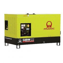 Γεννήτρια πετρελαίου PRAMAC Ιταλίας GBW 22
