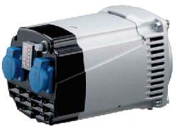 Ηλεκτρογεννήτρια linz 220V 3000 στροφών με σταθεροποιητή τάσης, πίνακα 3,5kva και κώνο