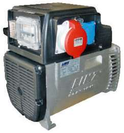 Ηλεκτρογεννήτρια linz 220V/380 3000 στροφών με σταθεροποιητή τάσης, πίνακα 12.5kva και κώνο