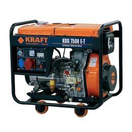 Γεννήτρια Πετρελαίου Kraft KDG 7500 E 5000W 11,5hp