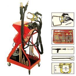 Ηλεκτροπόντα αερόψυκτη 8 KVA tecna made in italy