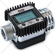 "Mετρητής βενζίνης K24 ATEX 1"" Ηλεκτρονικός επαγγελματικός 5-120 λιτ Bar 20"