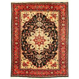 Sarough 271X196cm Persian Style Rug