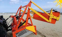 Μηχάνημα καθαρισμού ακτών – παραλιών PFG Manta Gold MADE IN ITALY