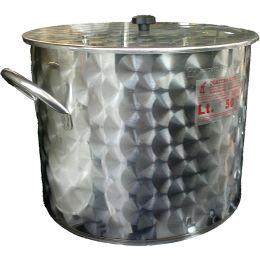 ΜΑΡΜΙΤΑ-ΚΑΖΑΝΙ INOX(ανοξοιδωτο) 50 λιτρων MARINX-50L