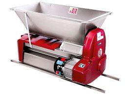 Σπαστήρας ηλεκτροκίνητος με διαχωριστήρα - κυλίνδρους - αναδευτήρα - κοχλία 90x50 1500kg/hour OMAC ARES15I full inox made in italy