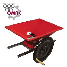 Σπαστήρας σταφυλιών χειροκίνητος 40x40 OMAC P-MINI made in italy