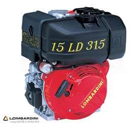 Κινητήρας πετρελαίου LOMBARDINI 6.8HP ΚΩΝΟΣ 15LD 315