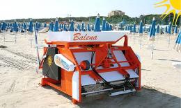 Μηχάνημα καθαρισμού ακτών – παραλιών PFG Balena MADE IN ITALY