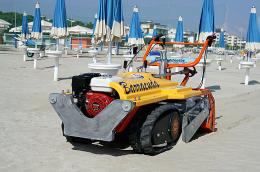 Μηχάνημα καθαρισμού ακτών – παραλιών PFG Barracuda MADE IN  ITALY