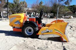 Μηχάνημα καθαρισμού ακτών – παραλιών PFG Squalo MADE IN ITALY