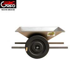 Σπαστήρας χειροκίνητος με κυλίνδρους - αναδευτήρα - κοχλία Grifo PGI  inox 95x60