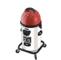 Ηλεκτρική σκούπα με 2 μοτέρ και κάδο INOX 50lt TRON made in italy