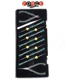 FORCE 2106 Σετ κατσαβιδιών με κοφτάκια ηλεκτρονικών 11 τεμαχίων