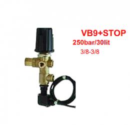 Ασφαλιστικό BY PASS  εώς 280bar  με TOTAL STOP (VB9+STOP)