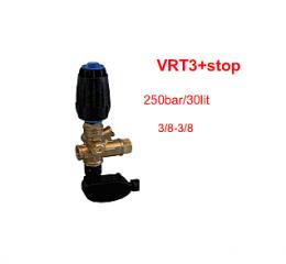 Ασφαλιστικό BY PASS  εώς 280bar  με TOTAL STOP (VRΤ3+STOP)
