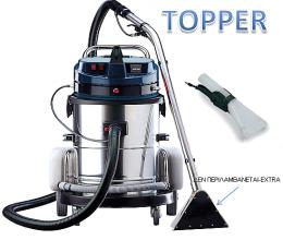 Σκούπα βιολογικού καθαρισμού extraction Topper 2 μοτέρ made in italy