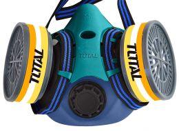 Μάσκα προστασίας μισού προσώπου TOTAL THRS02 με φίλτρα FFP3 (με 2 φίλτρα)