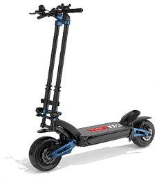ZERO 11x Electric scooter, 160 Km Range, Top Speed 110 Km / h, Motor 2 x 1600W, 11″ Pneumatic wheels, Hydraulic suspensions (Black / Blue)