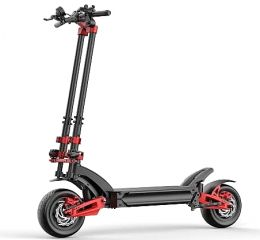 ZERO 11x Electric scooter, 160 Km Range, Top Speed 110 Km / h, Motor 2 x 1600W, 11″ Pneumatic wheels, Hydraulic suspensions (Black / Red)