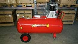 Βενζινοκίνητος αεροσυμπιεστής ιταλίας GGA με επιταχυντή, κινητήρας 13hp, 270lt