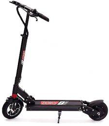 ZERO 8 Electric scooter, 30-35 Km Range, Top Speed 40 Km / h, Motor 500W, 8″ Wheels (Black)