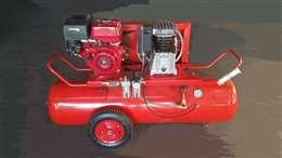 Κλαδευτικό συγκρότημα αέρος βενζινοκίνητο ιταλίας 200lit  με κινητήρα honda 6,5hp