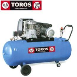 TOROS N3-200C-3M ΑΕΡΟΣΥΜΠΙΕΣΤΗΣ ΜΕ ΙΜΑΝΤΑ Βlue series 200lt -3HP 220V