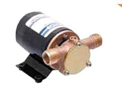 Αντλία επιφάνειας νερού τύπου 6201- 24 με ελαστικό ιμπελέρ 24 Volt