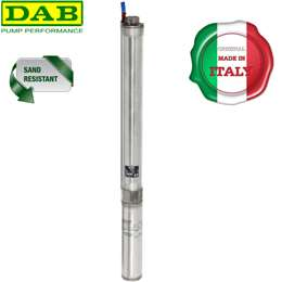"Aντλία νερού γεώτρησης υποβρύχια 4"" 3HP DAB S4D25M"