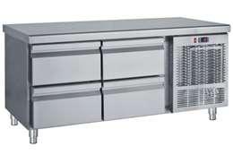 Ψυγείο Πάγκος Χαμηλό Με 4 Συρτάρια