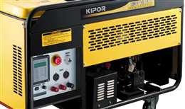 Γεννήτρια πετρελαίου Kipor KDE 12EAF