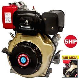 Πετρελαιοκινητήρας με  μίζα LD170F 5 HP κώνος 19mm