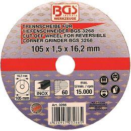 Δίσκος κοπής INOX 100 mm