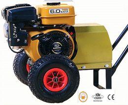Γεννήτρια ελαιοραβδιστικού τροχήλατη 70ampere 12V με κινητήρα honda 5.5hp