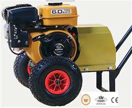 Γεννήτρια ελαιοραβδιστικού τροχήλατη 70ampere 12V με κινητήρα subaru 6hp