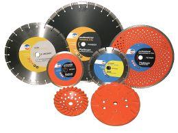 Δίσκος κοπής για μπετόν 350mm Gold for Extra Hard Materials