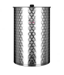 Minox CTE10003 Σύνθετο Ανοξείδωτο Κολλητό Δοχείο Αποθήκευσης Λαδιού & Κρασιού 50lt (Mε Καπάκι)