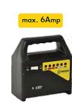 Φορτιστής μπαταριών κατάλληλος για μπαταρίες μολύβδου 6Amp