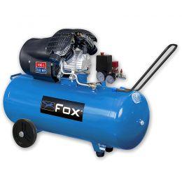 Αεροσυμπιεστής λαδιού μονομπλόκ (100lt - 3HP) FOX FL100/3V