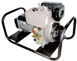 Γεννήτρια πετρελαίου 380V 9,0 KVA με μίζα και σταθεροποιητή τάσης
